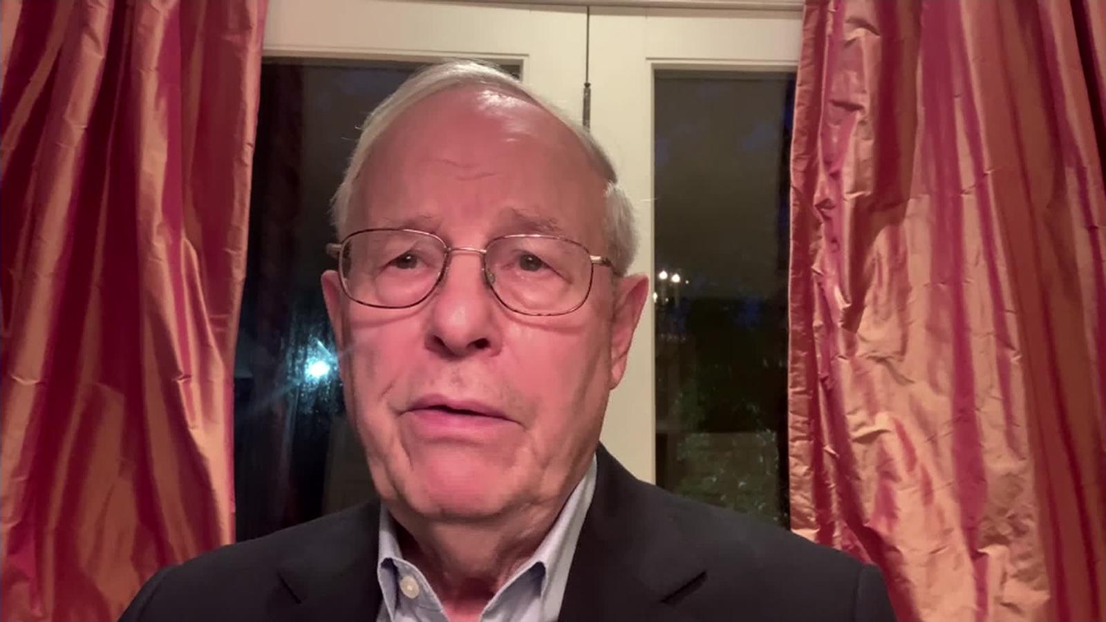 Commission on Presidential Debates co-chair Frank Fahrenkopf.