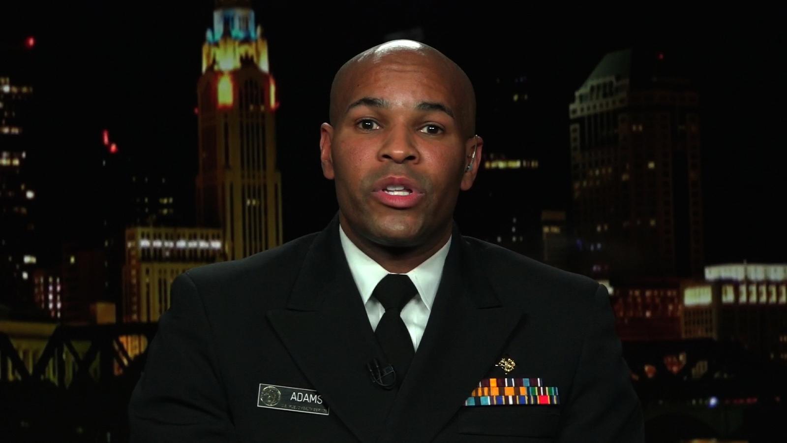 Surgeon General Jerome Adams.