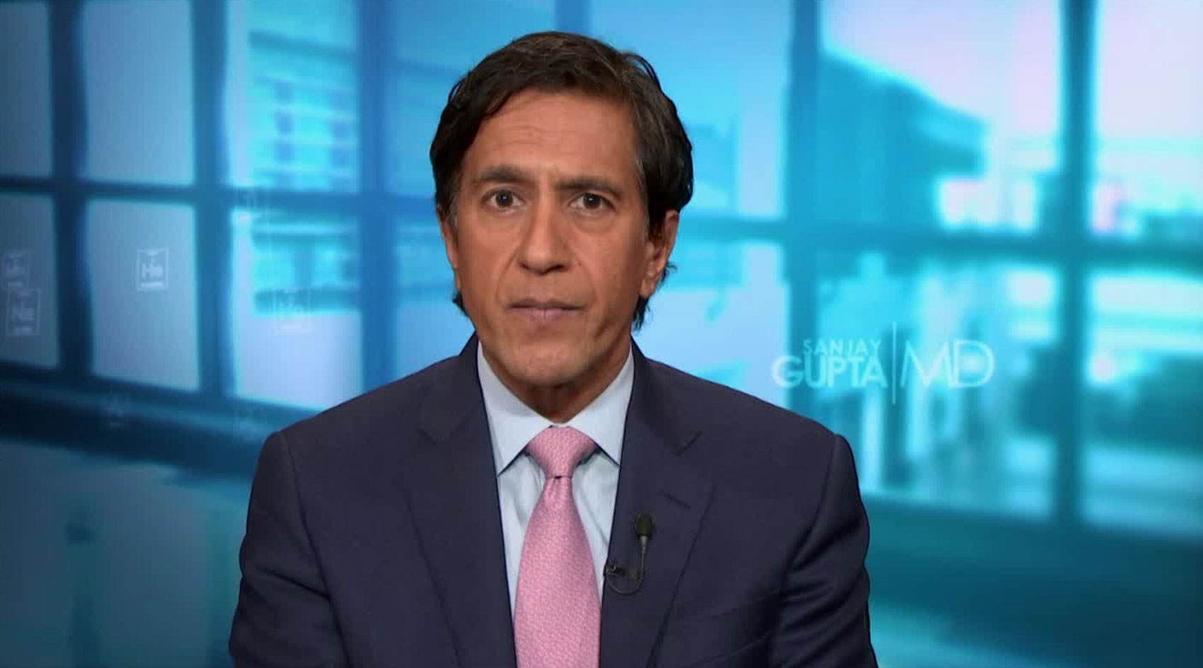 Dr. Sanjay Gupta, CNN chief medical correspondent, on December 3.