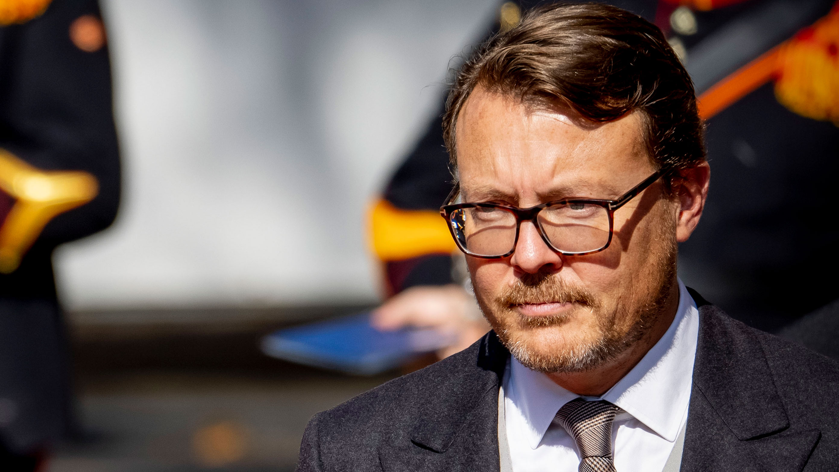 Prince Constantijn of the Netherlands attends Prinsjesdag, the traditional opening of parliament, on September 15 in The Hague, Netherlands.
