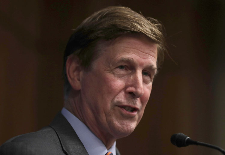 U.S. Rep. Don Beyer (D-VA) speaks during a discussion on the Trans-Pacific Partnership (TPP) September 26, 2016 on Capitol Hill in Washington, DC.