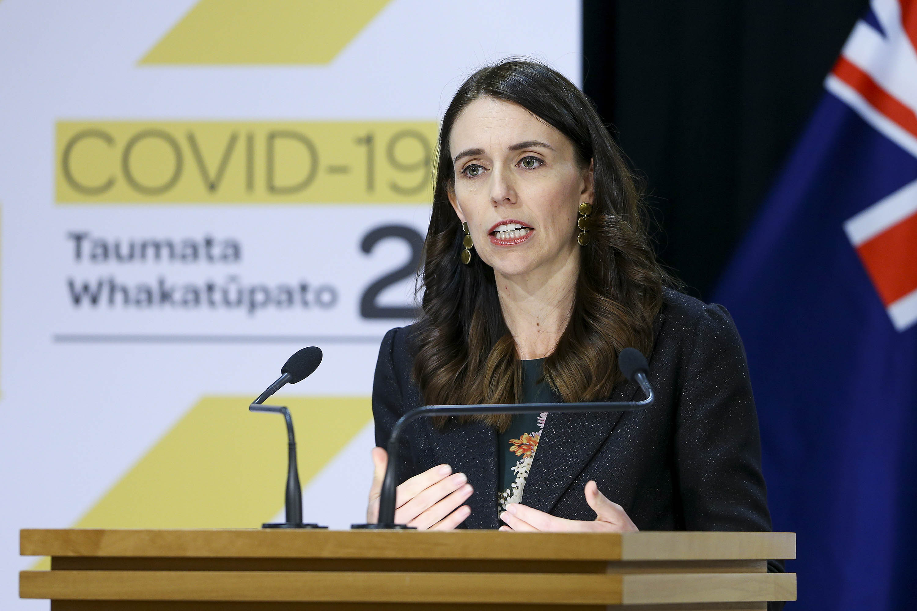 New Zealand's Prime Minister Jacinda Ardern is pictured during a news conference in Wellington, New Zealand on May 27.