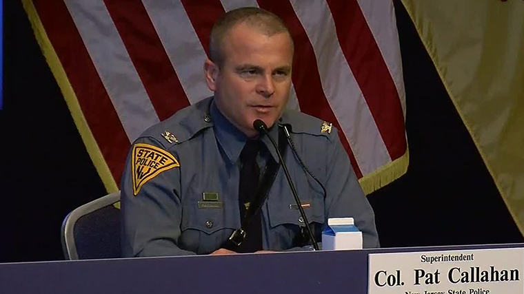 New Jersey State Police Colonel Patrick Callahan