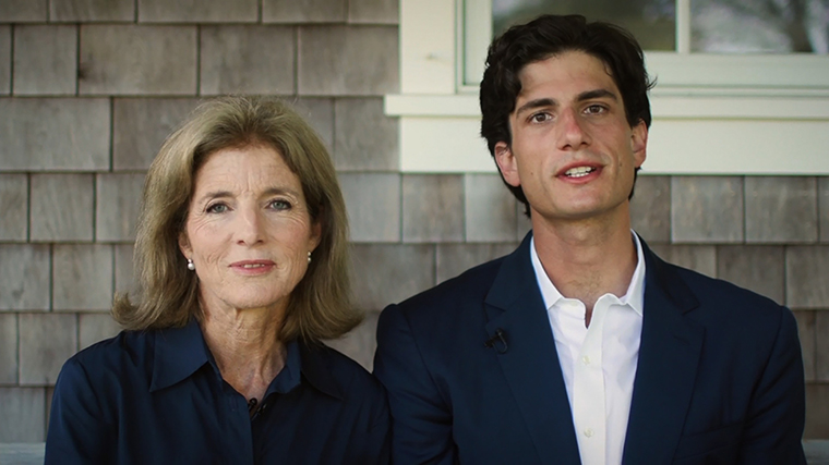 Caroline Kennedy and Jack Schlossberg.