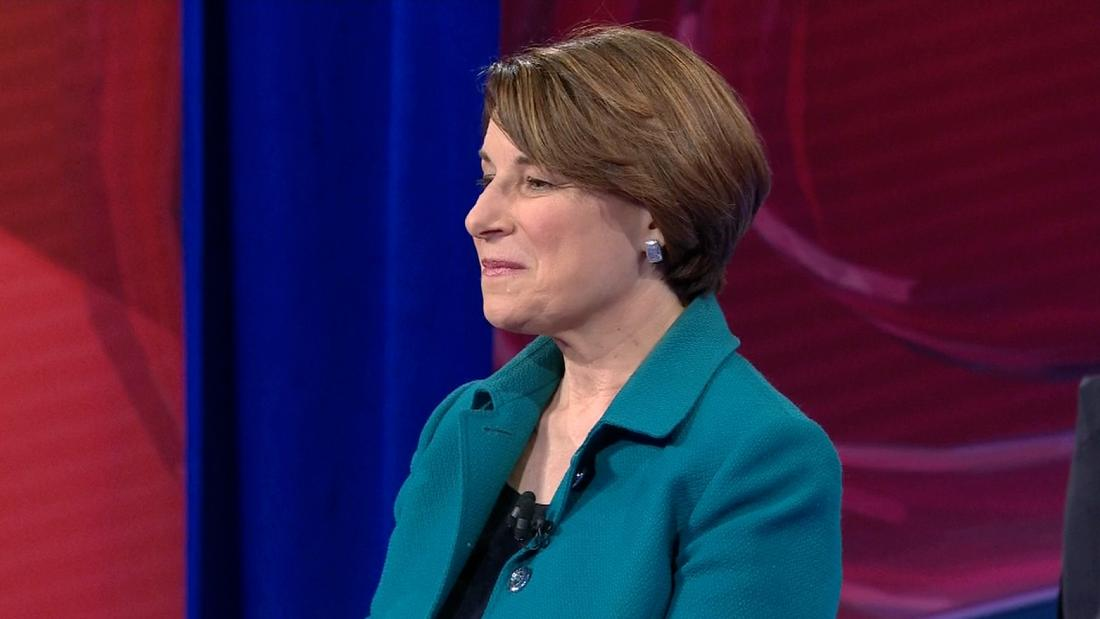 Amy Klobuchar is one of several 2020 Democrats in Iowa this weekend.