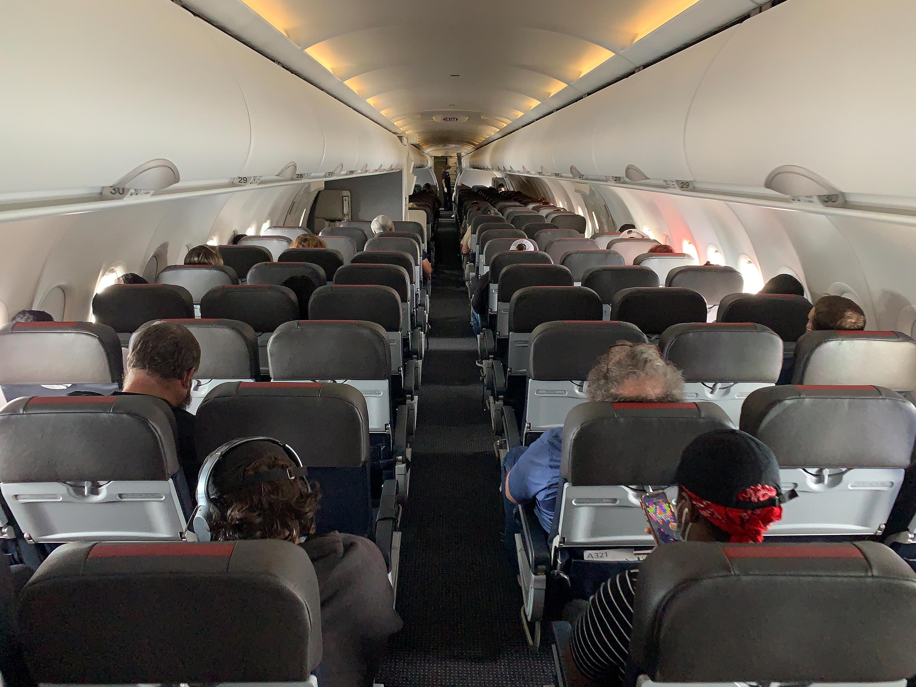 An American Airlines flight on May 15, 2020.