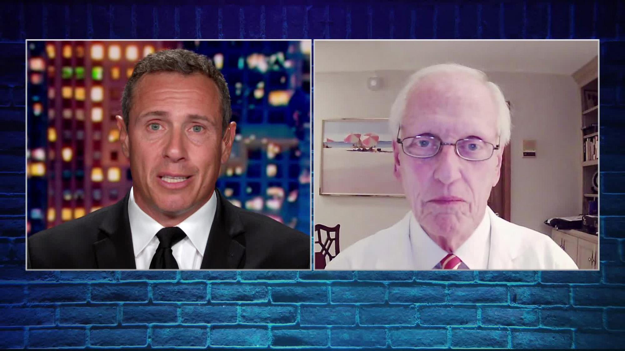 CNN's Chris Cuomo and Dr. William Schaffner.
