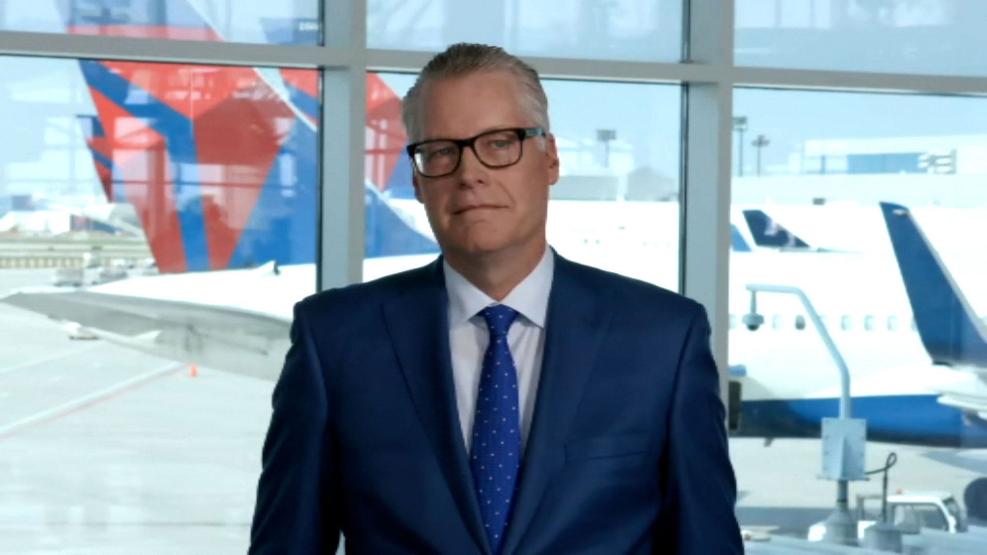 CEO of Delta Air Lines Ed Bastian on May 27.