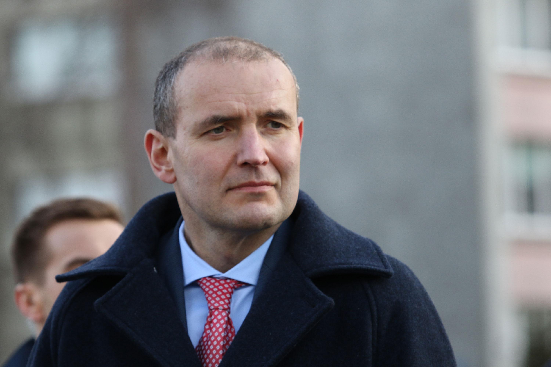 President Guðni Jóhannesson seen in March.