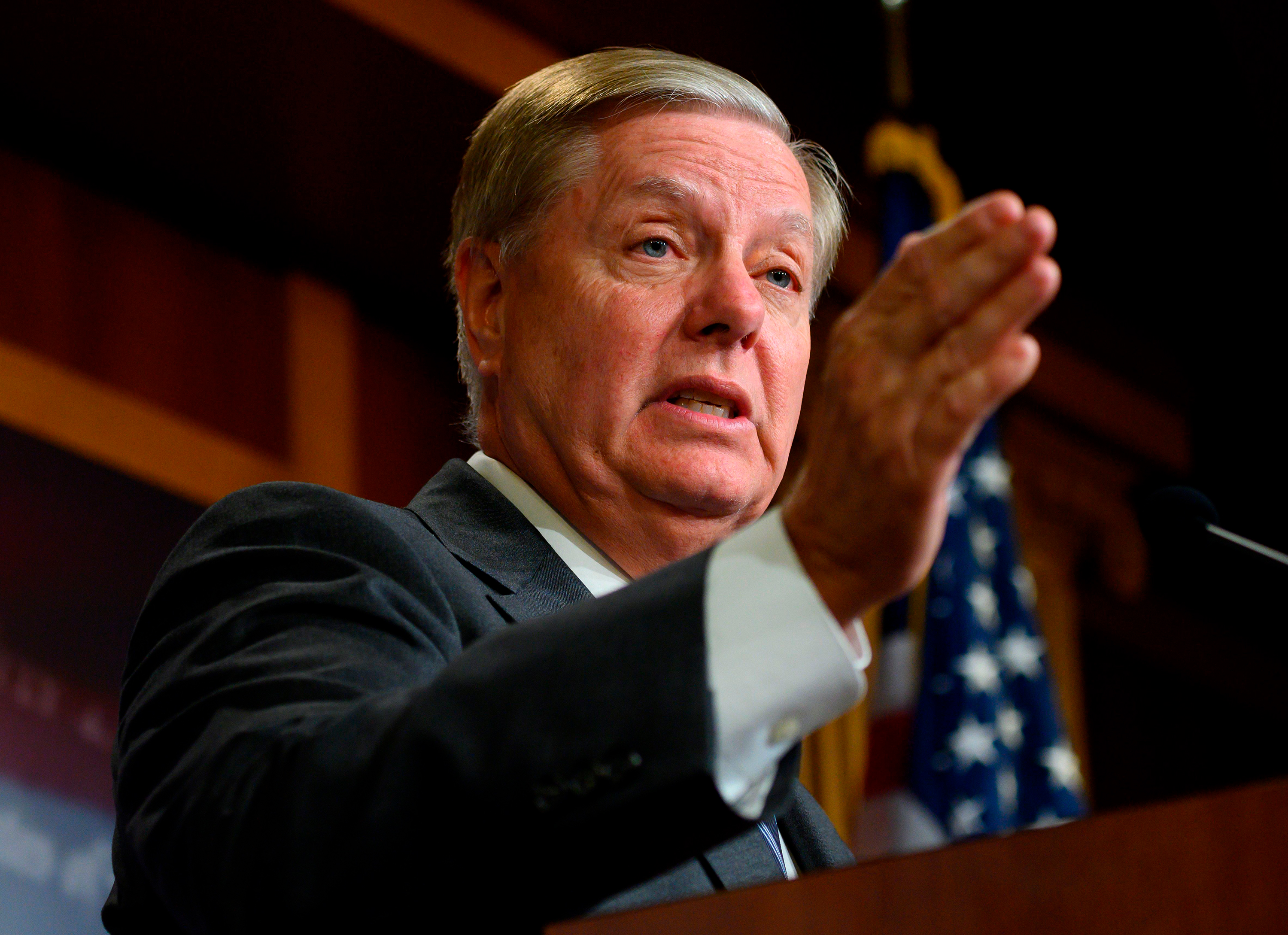 "Senate Judiciary Chairman Lindsey Graham said the inquiry would be ""invalid"" without the whistleblower's testimony."