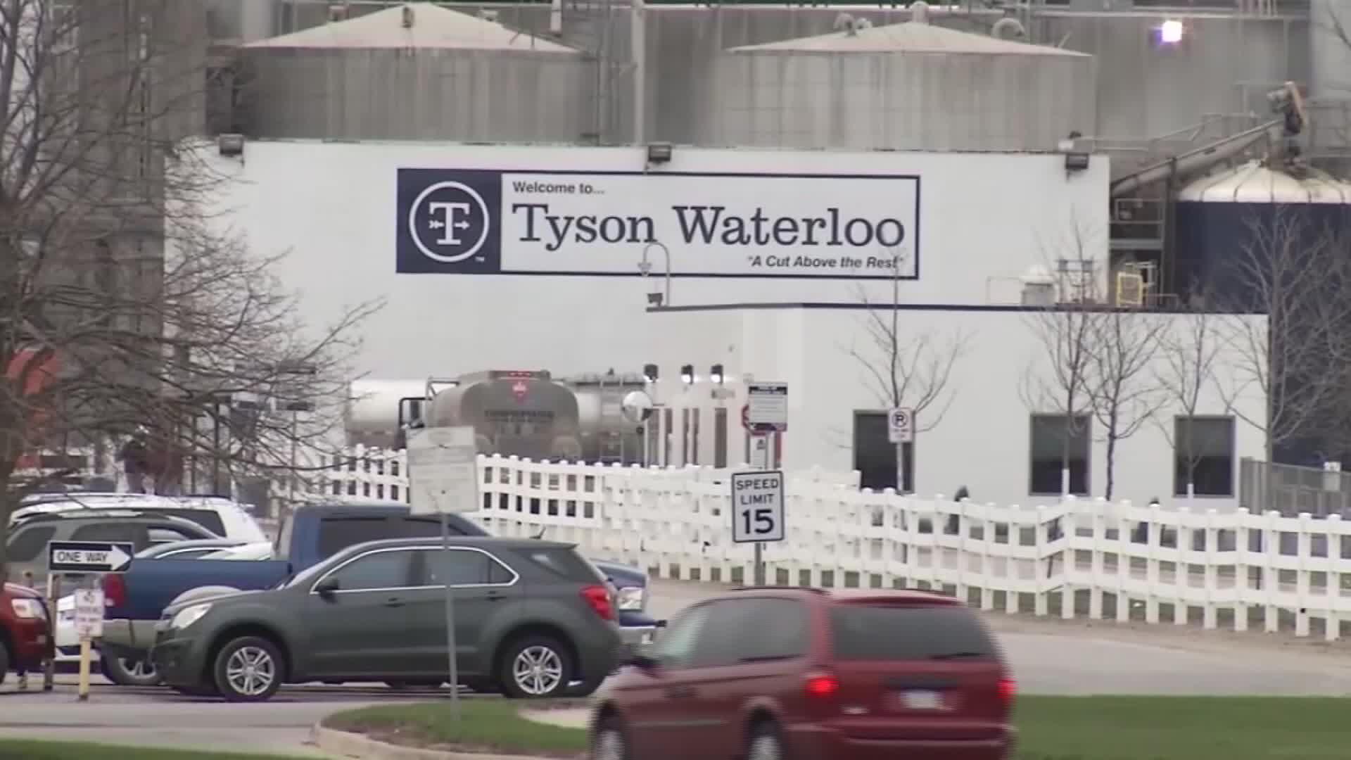 Tyson Waterloo Plant in Black Hawk county, Iowa.
