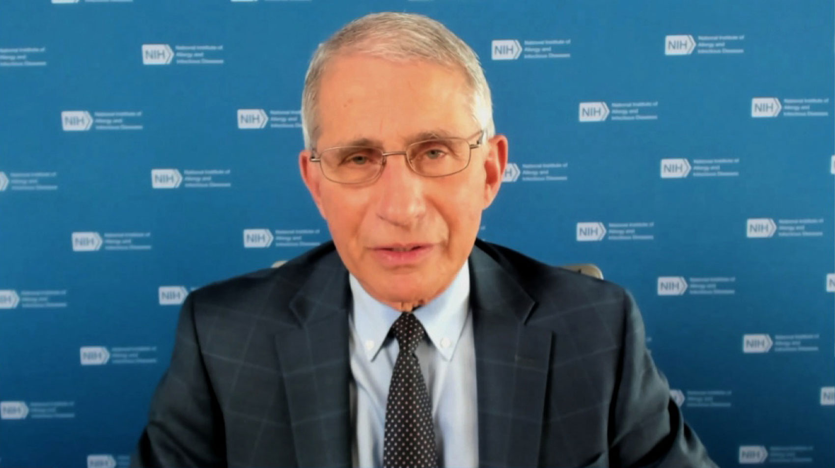"Dr. Anthony Fauci on CNN's ""Newsroom"" on November 17."