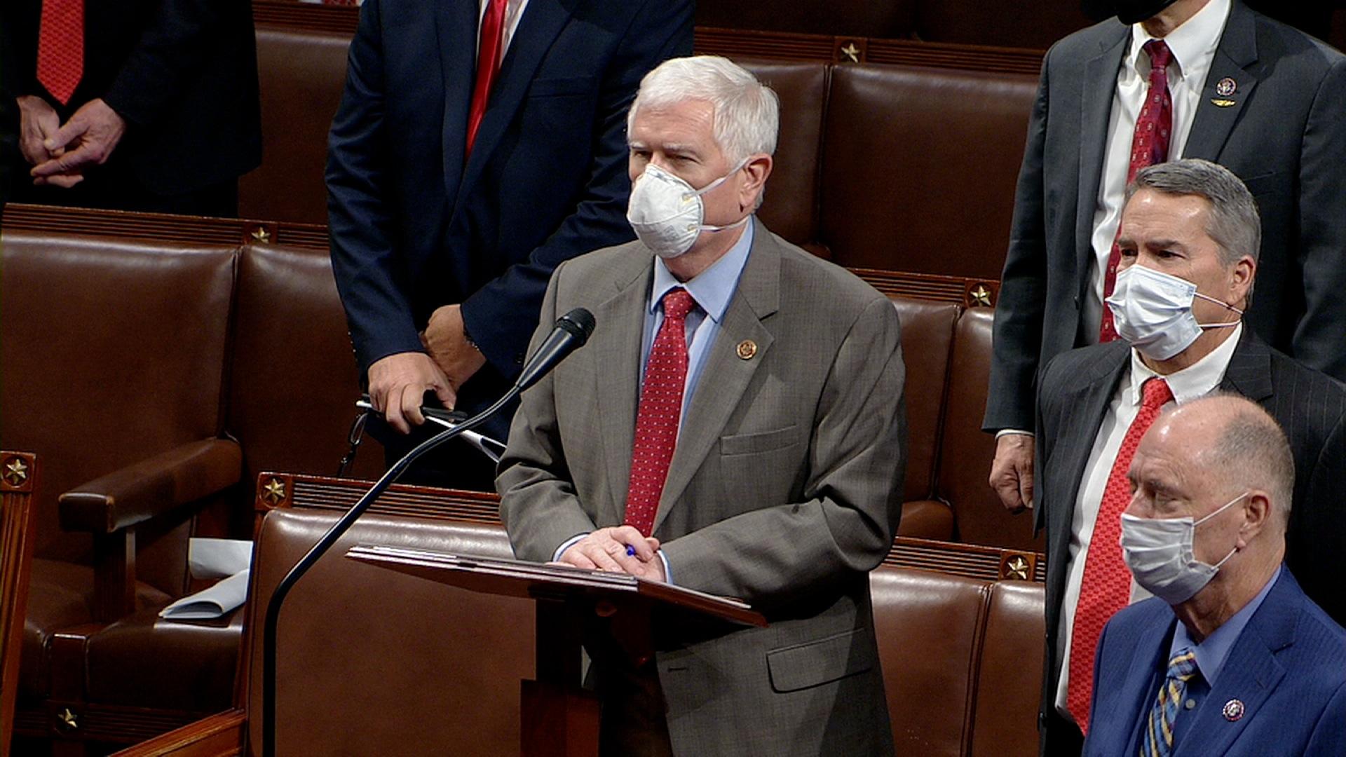 Republican Rep. Mo Brooks.
