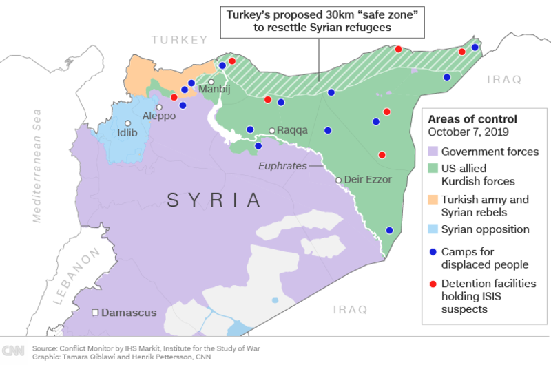 Bildresultat för turkish offensive in syria