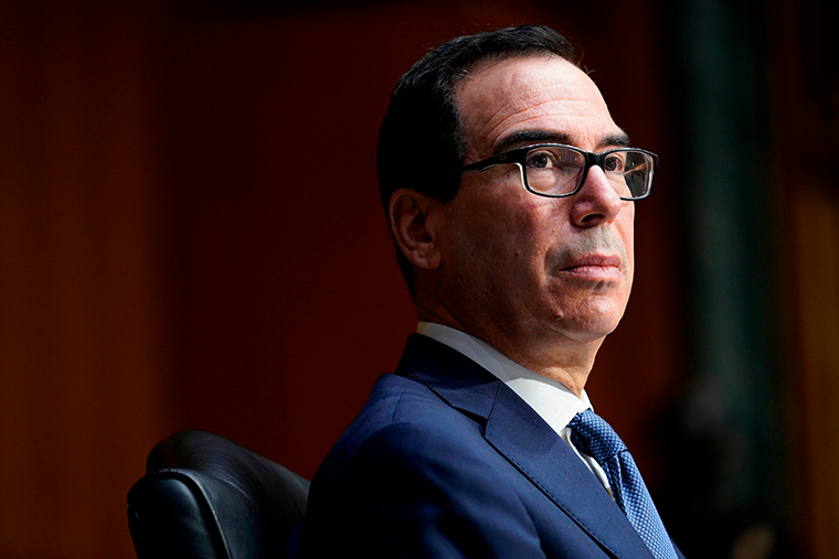 Treasury Secretary Steven Mnuchin on December 1, 2020 in Washington, DC.