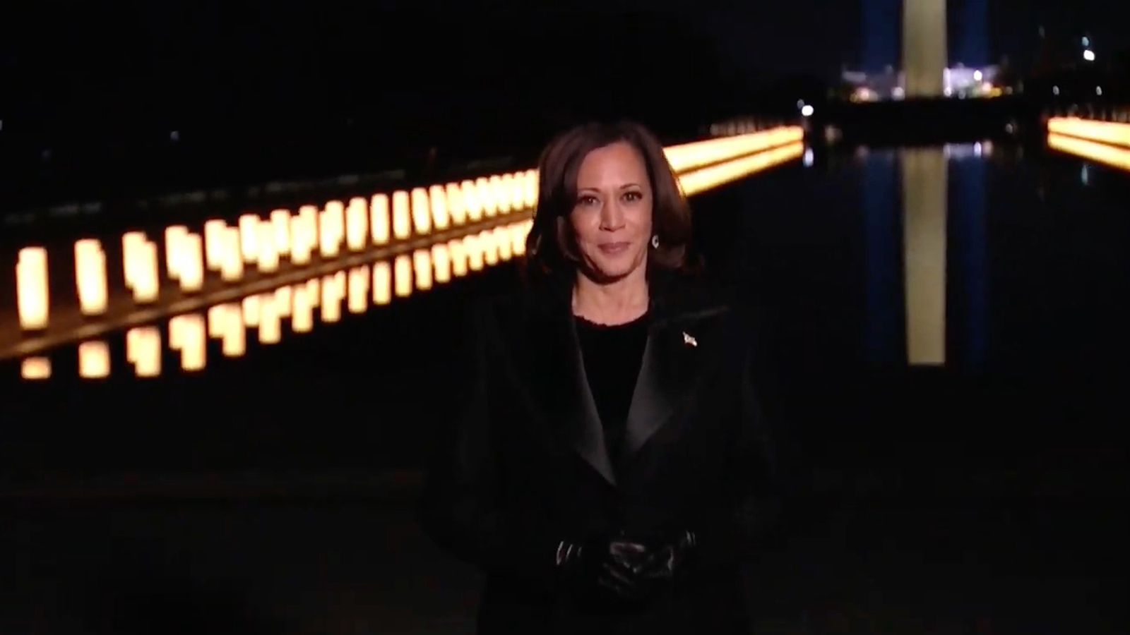 In this screengrab, Vice President Kamala Harris speaks during the Celebrating America Primetime Special on January 20.