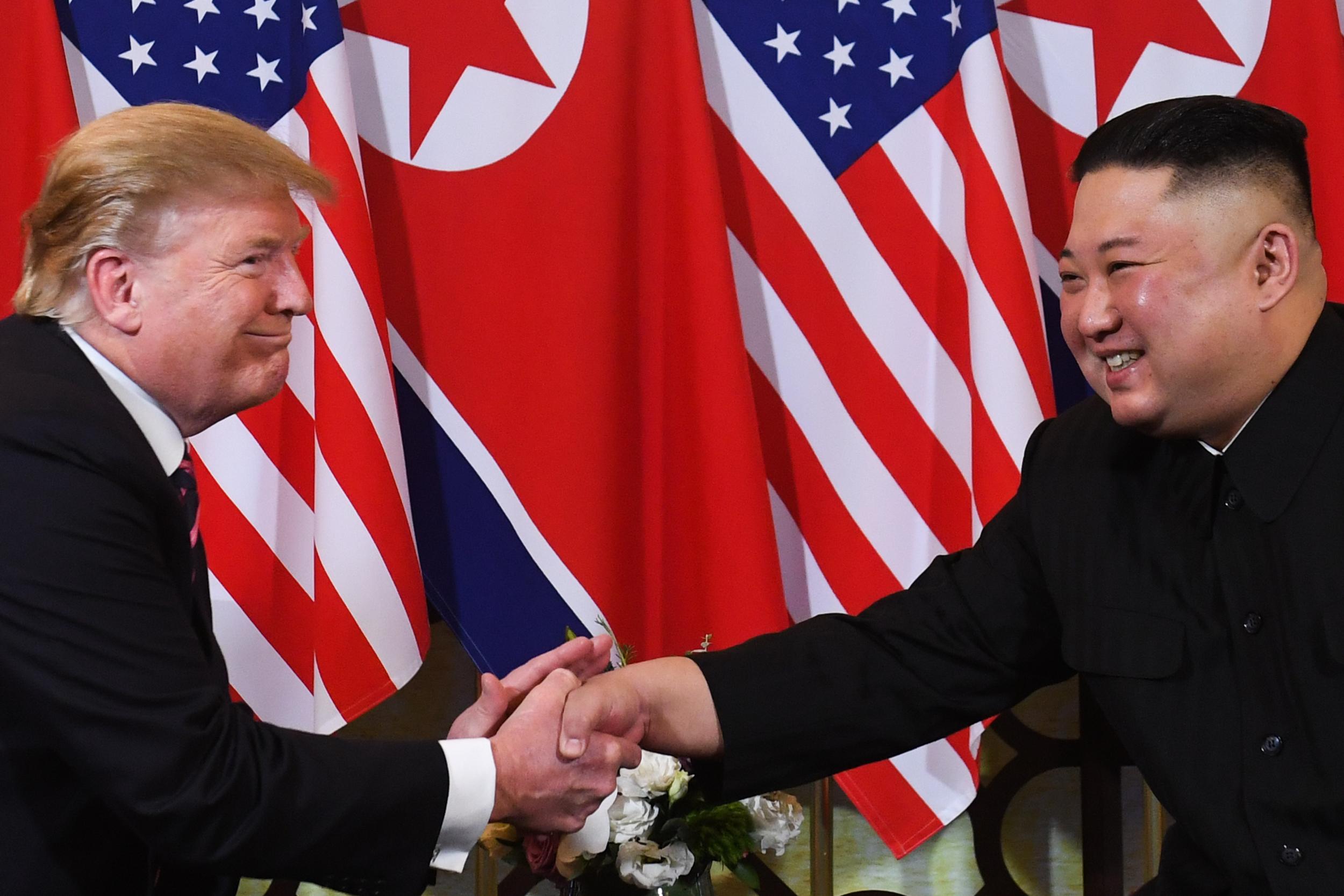 Trump and Kim meet in Hanoi on Wednesday night.