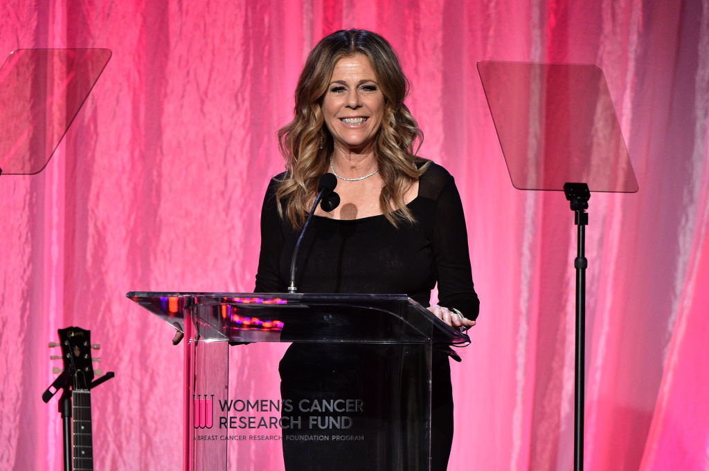 "Rita Wilson at WCRF's ""An Unforgettable Evening"" on February 27 in Beverly Hills, California."