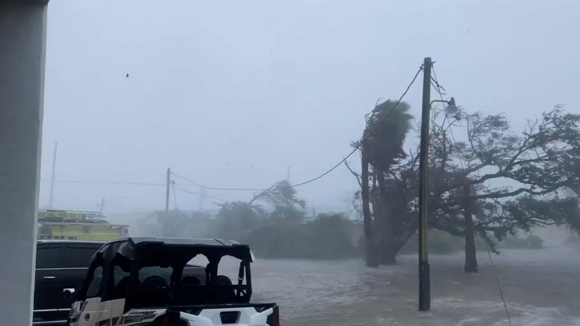 Grand Isle, Louisiana, on August 29, 2021.