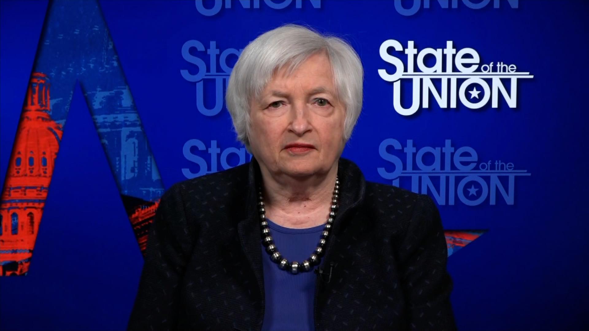 Treasury Secretary Janet Yellen on February 7.