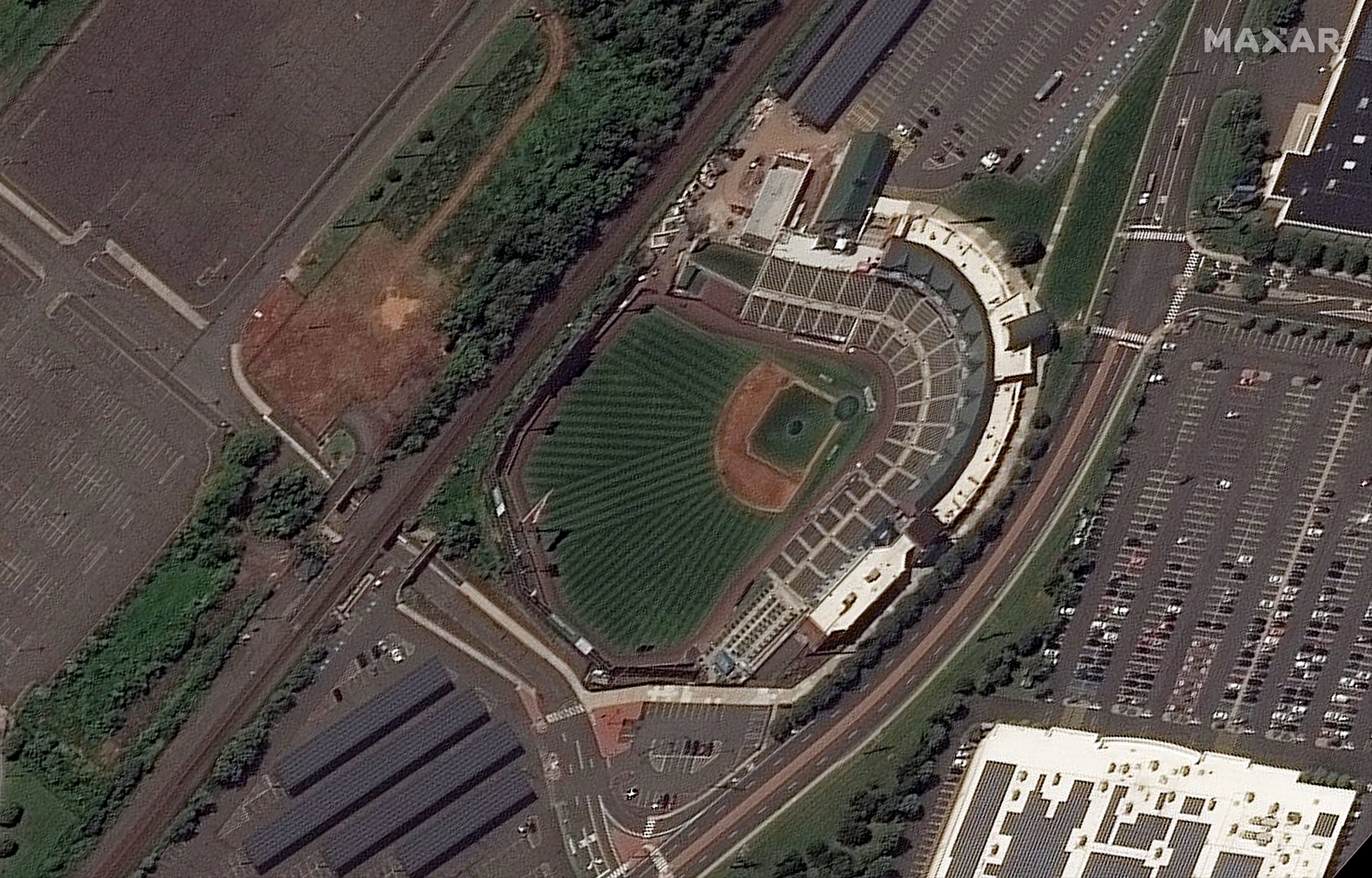 TD Bank Ballpark in Bridgewater Township, New Jersey, on August 25, 2021.