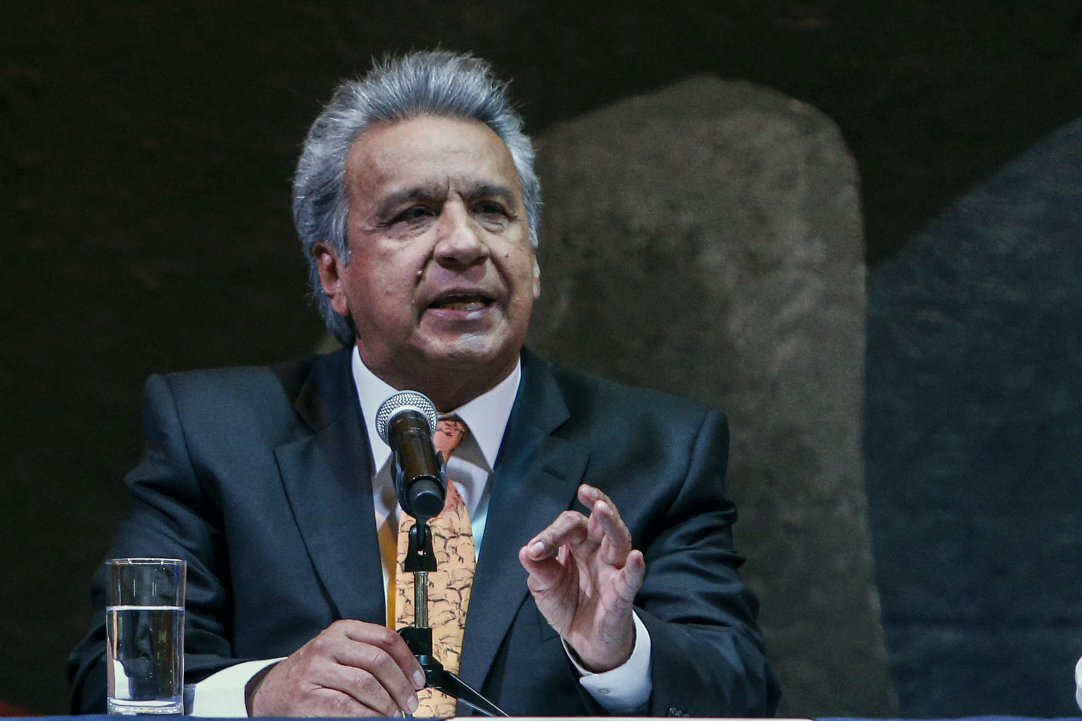 Ecuador President Lenin Moreno in 2019