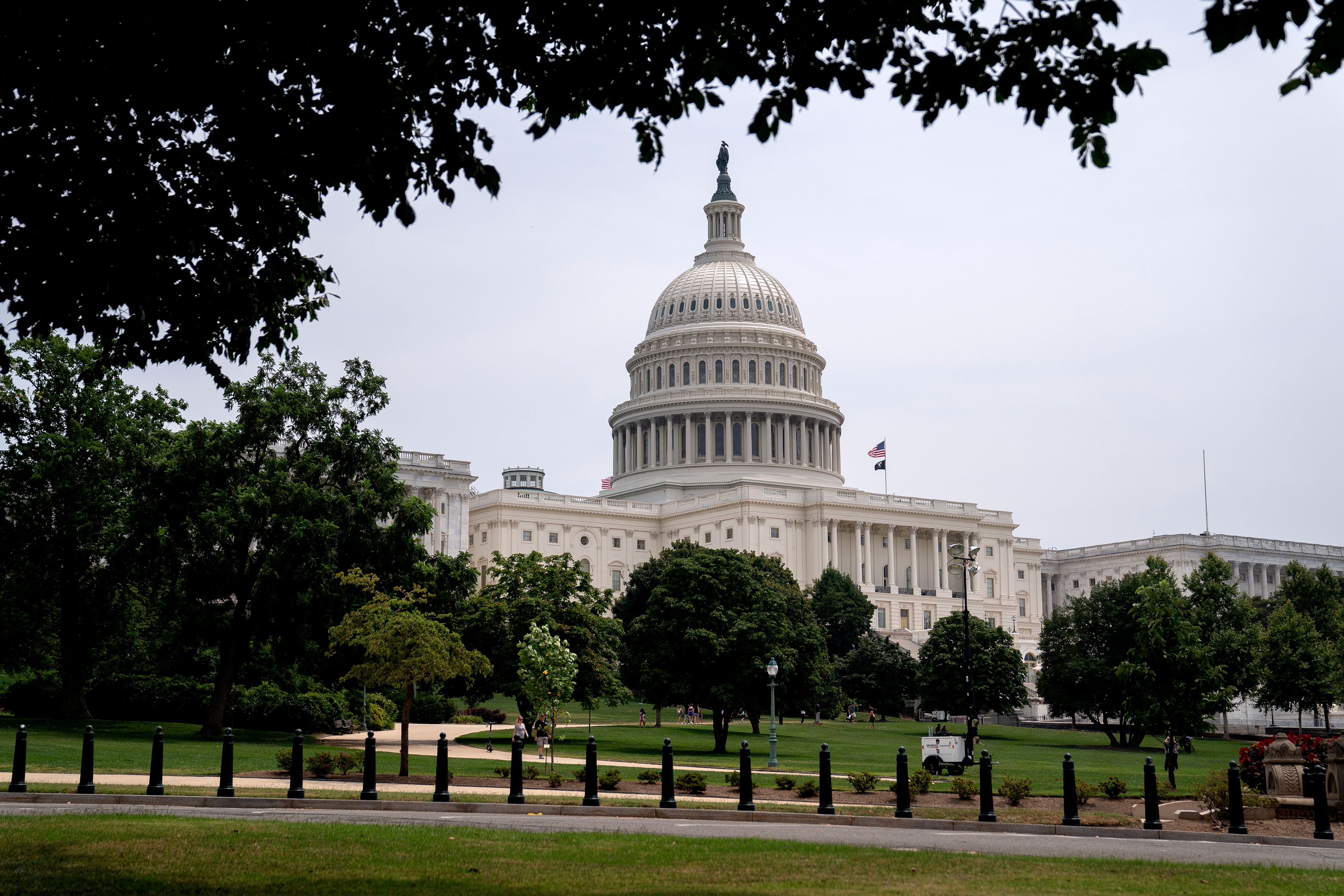 The US Capitol in Washington, DC, on July 25, 2021.