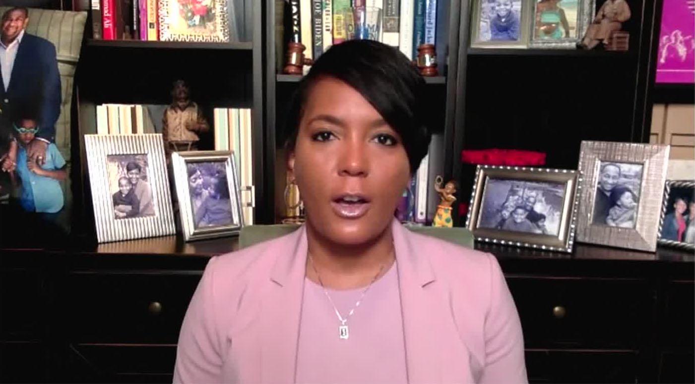"Atlanta Mayor Keisha Lance Bottoms on CNN's ""New Day"" on July 13."