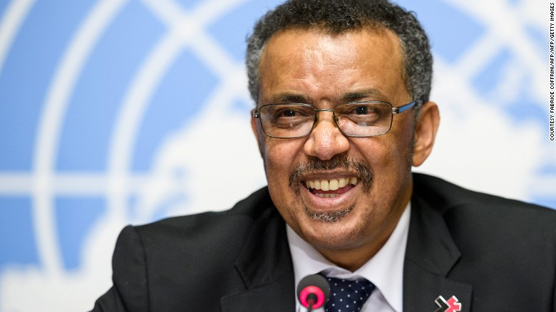 Tedros Adhanom Ghebreyesus is not only the WHO's first African Director-General but also the first non-physician to lead the global health agency.
