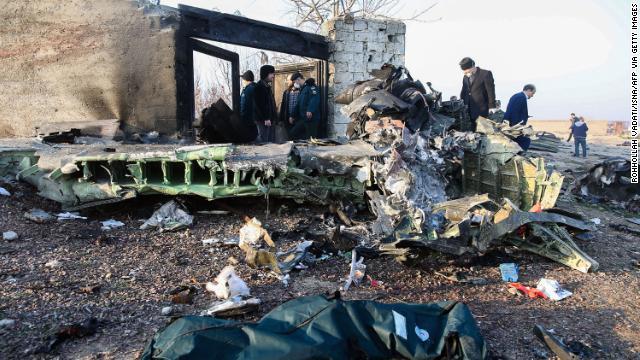 Ukrainian Boeing plane crashes in Iran, 176 people dead