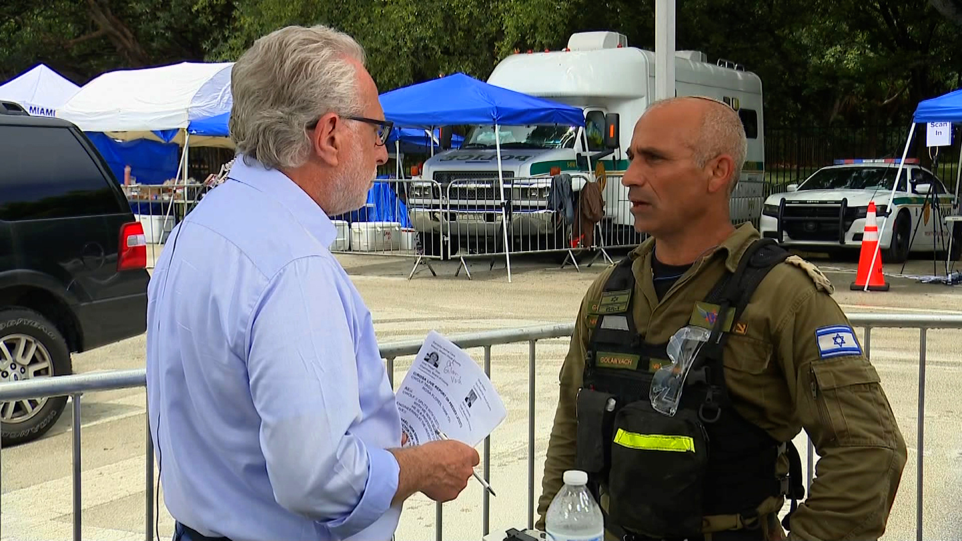 Col. Golan Vach, commander of the Israeli National Rescue Unit, speaks to CNN's Wolf Blitzer on June 29.