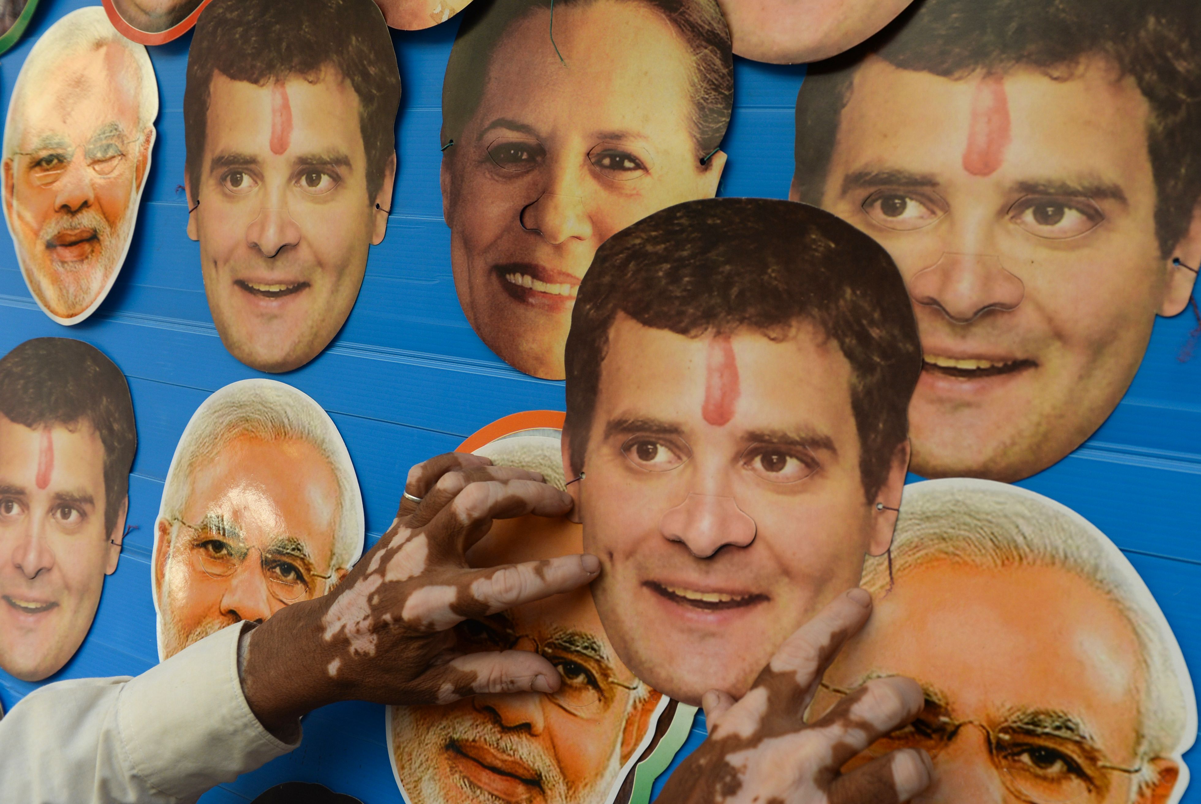Indian Congress Party President Rahul Gandhi is seeking to unseat Prime Minister Narendra Modi in upcoming elections.