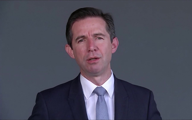 Australian Trade Minister Simon Birmingham