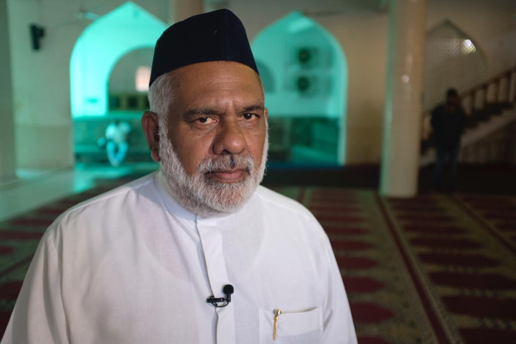 Reyyaz Salley, chairman of the Shaikh Usman Waliyullah mosque. He told CNN he had warned the government about extremists like Zahran Hashim, the alleged ringleader of the Easter Sunday bombers.
