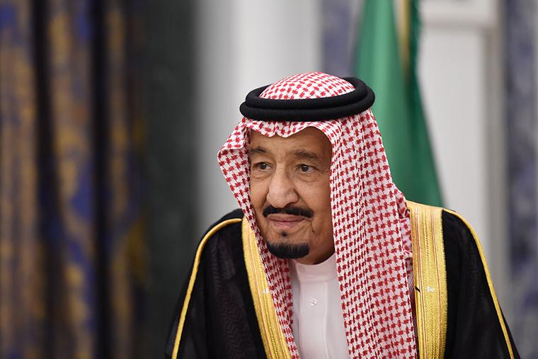 Saudi's King Salman bin Abdulaziz al-Saud