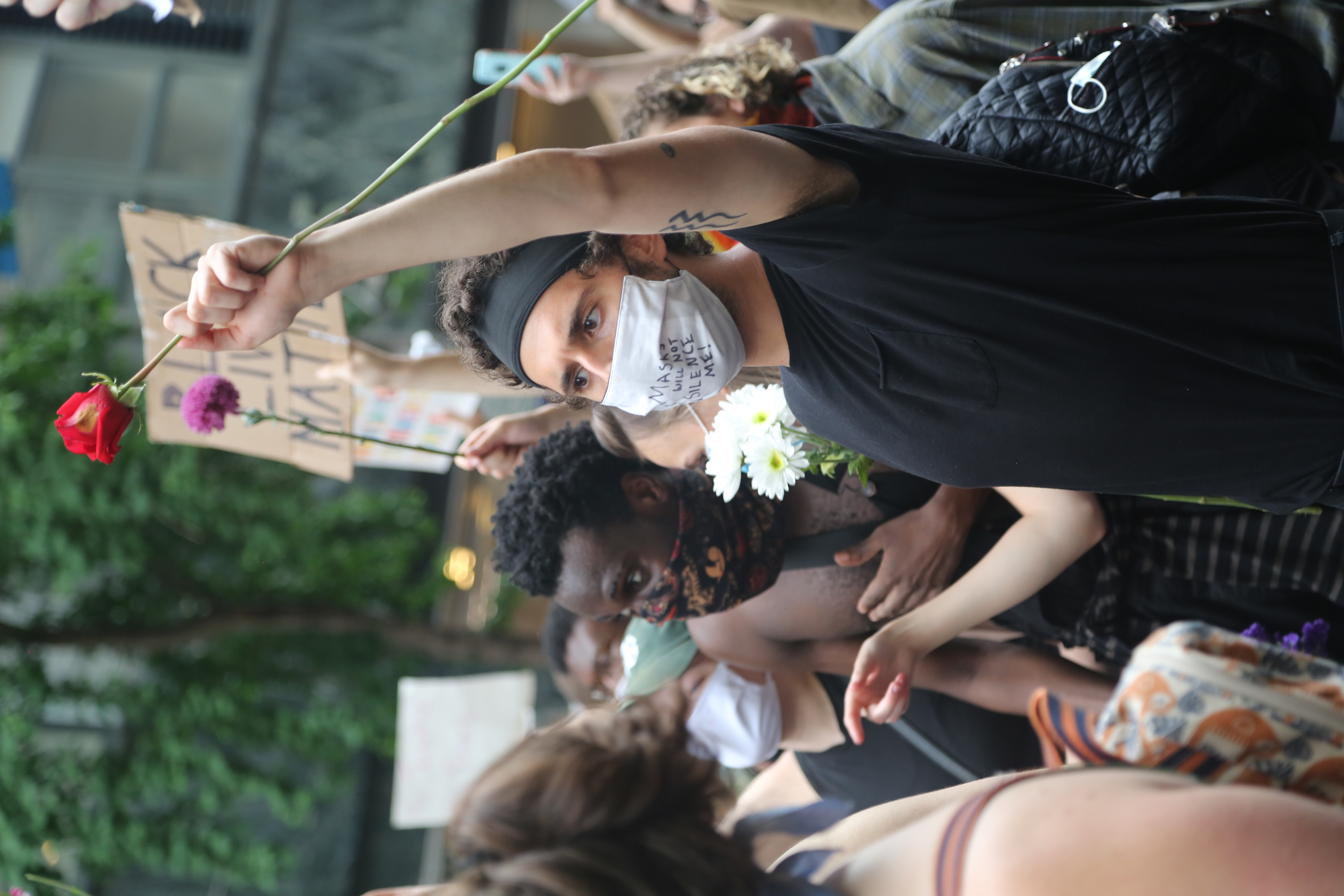 Protests in New York and all over the country were very diverse in make up.