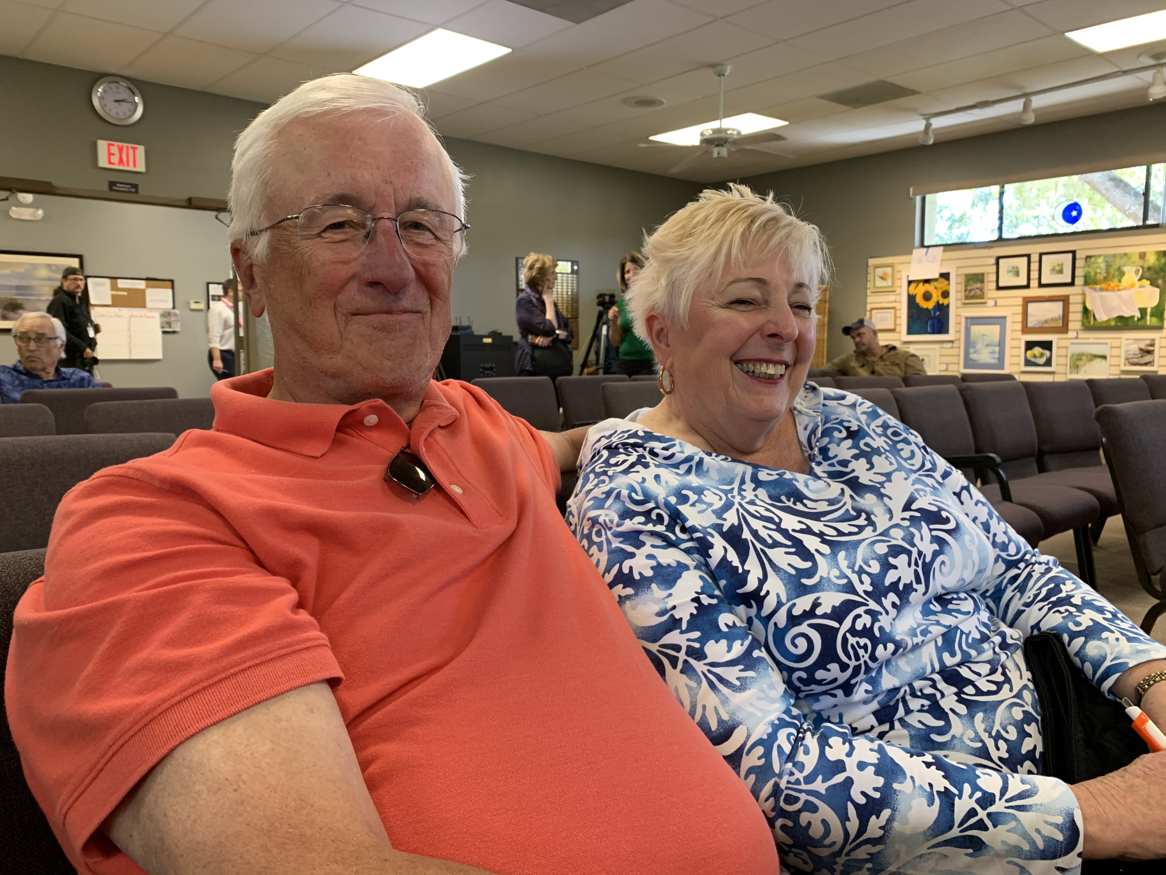 Richard and Linda Yach
