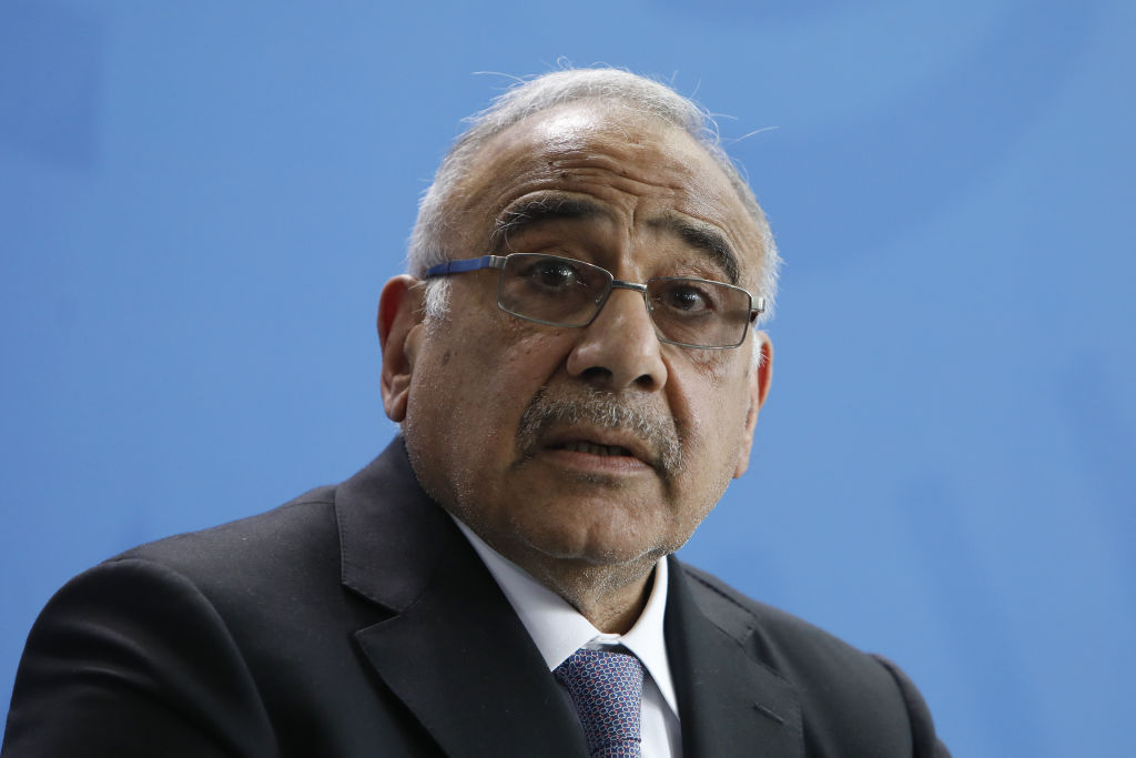 Iraq's Prime Minister Adil Abdul Mahdi called for an extraordinary parliamentary session to convene.