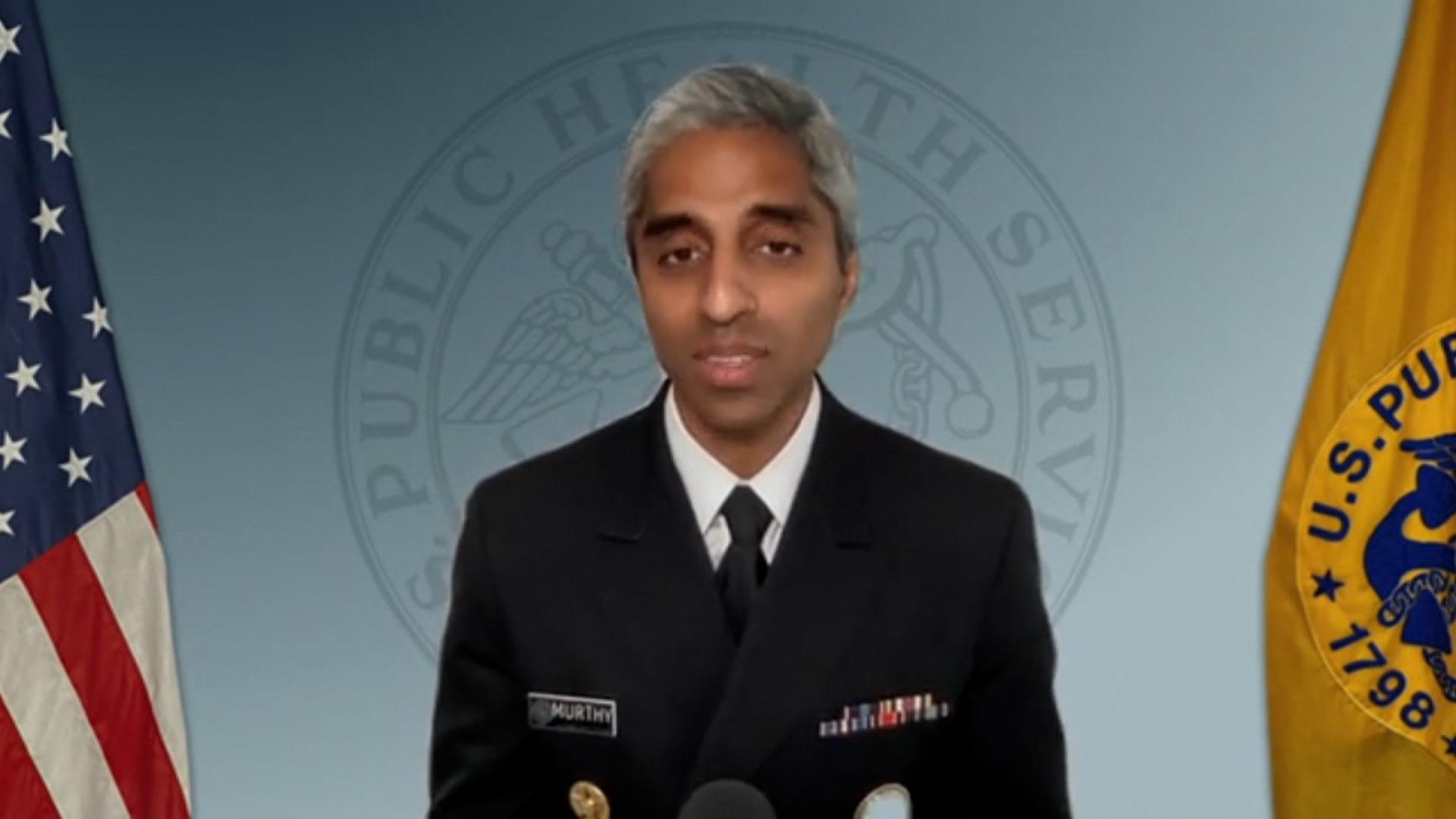 US Surgeon General Dr.Vivek Murthy.