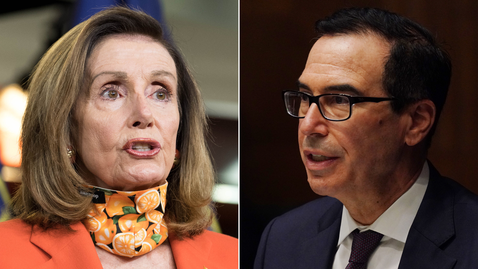 House Speaker Nancy Pelosi and Treasury Secretary Steven Mnuchin