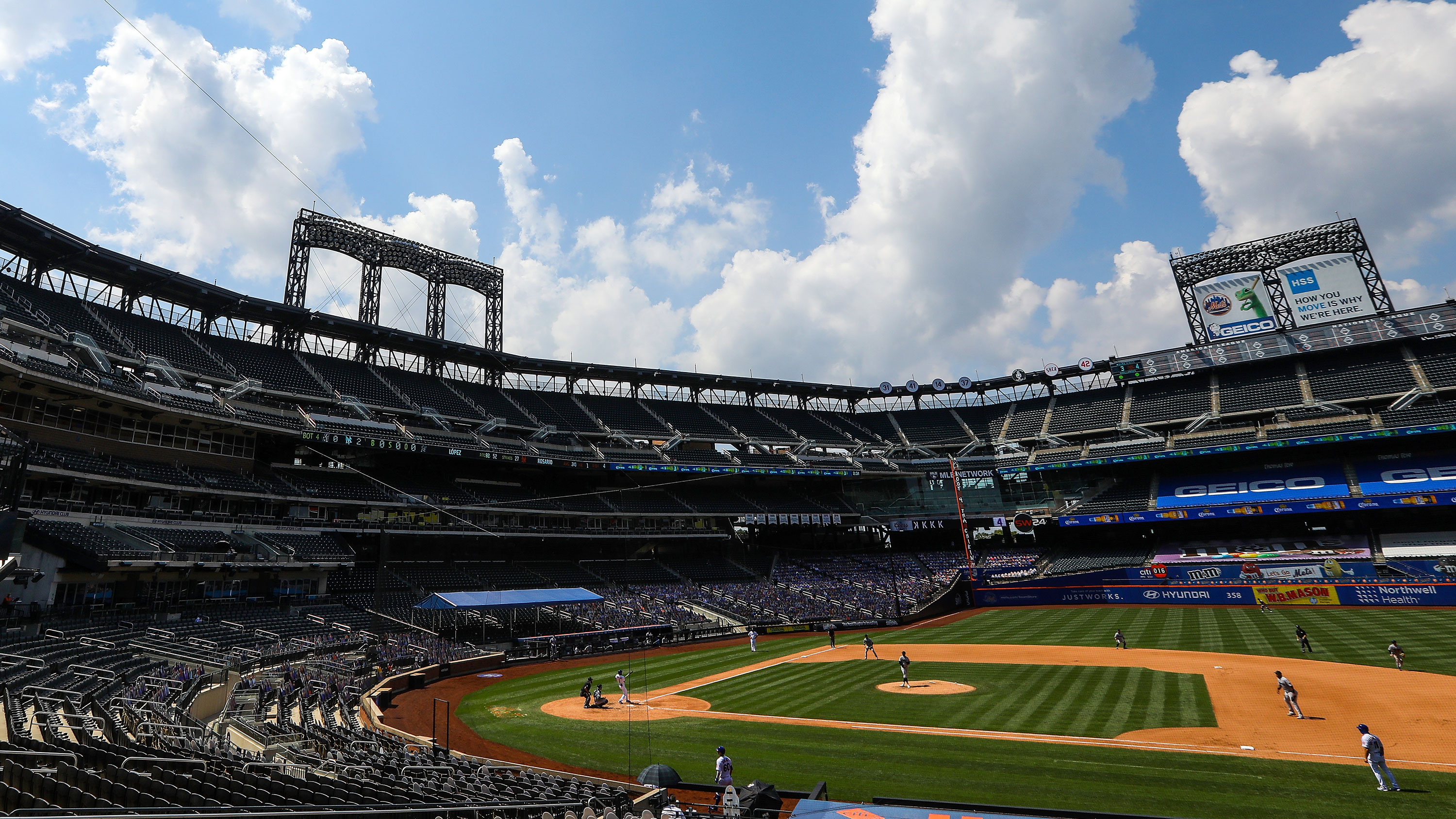 The New York Mets and Miami Marlins face off at Citi Field on August 9 in New York.