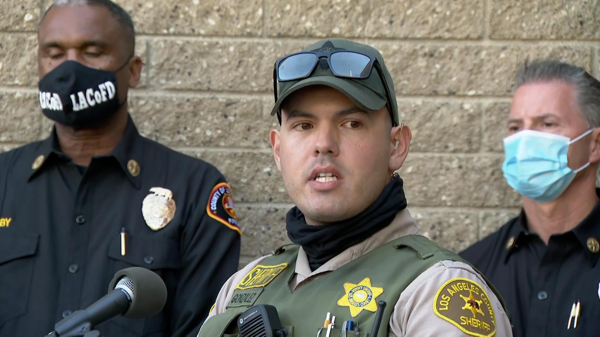 Deputy Carlos Gonzalez.