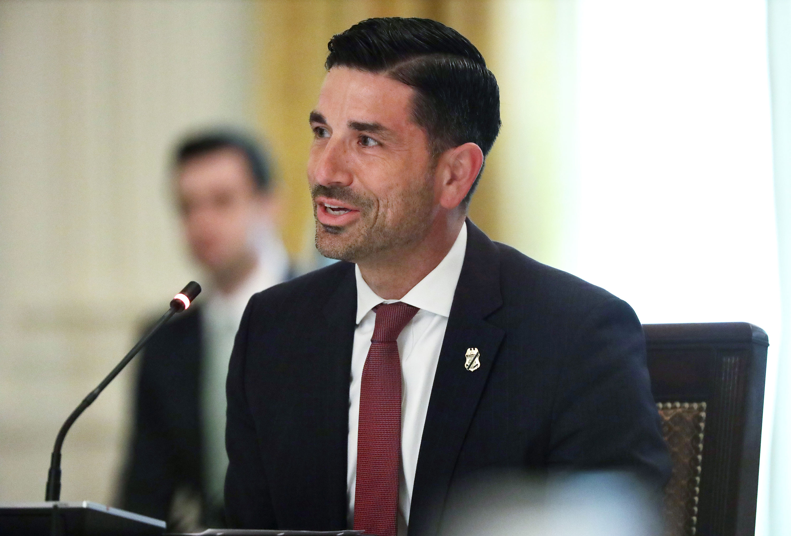 Acting U.S. Secretary of Homeland Security Chad Wolf on May 19