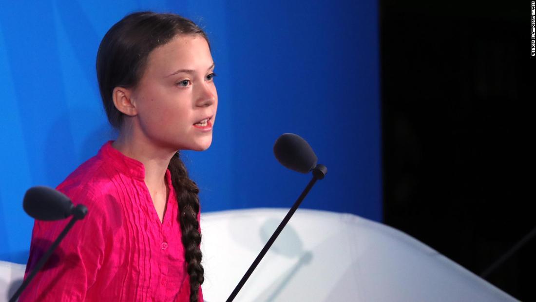 Greta Thunberg sagt, die UN 'Sie haben gestohlen meine Träume und meine kindheit