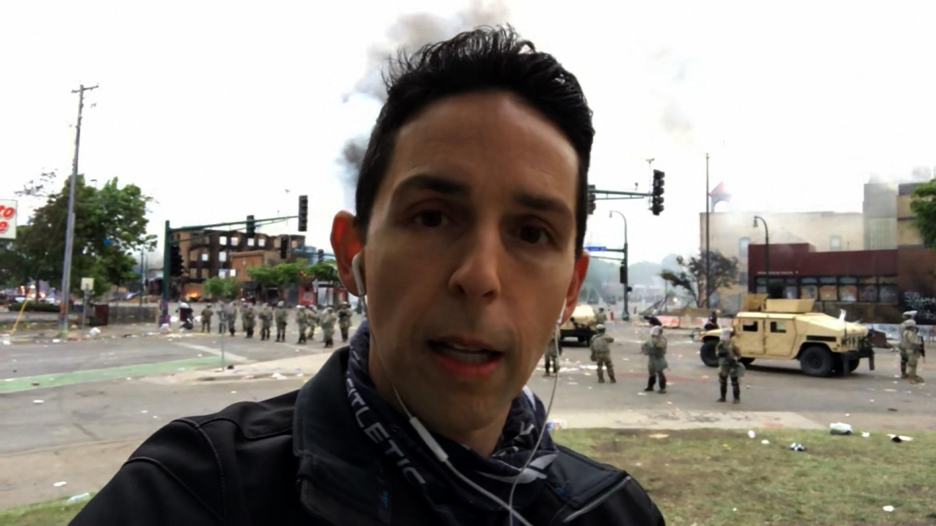 CNN correspondent Josh Campbell.
