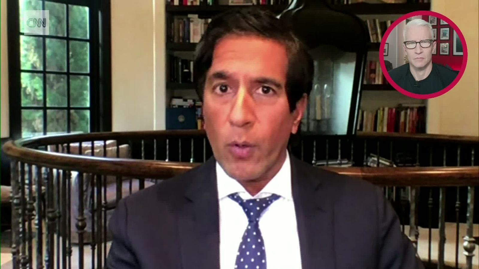 Dr. Sanjay Gupta speaks during Anderson Cooper Full Circle.