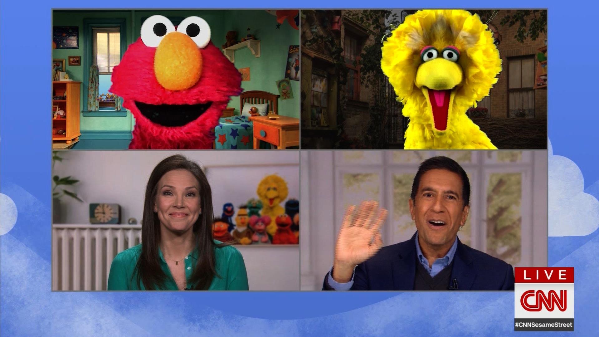 The CNN and Sesame Street coronavirus town hall has begun