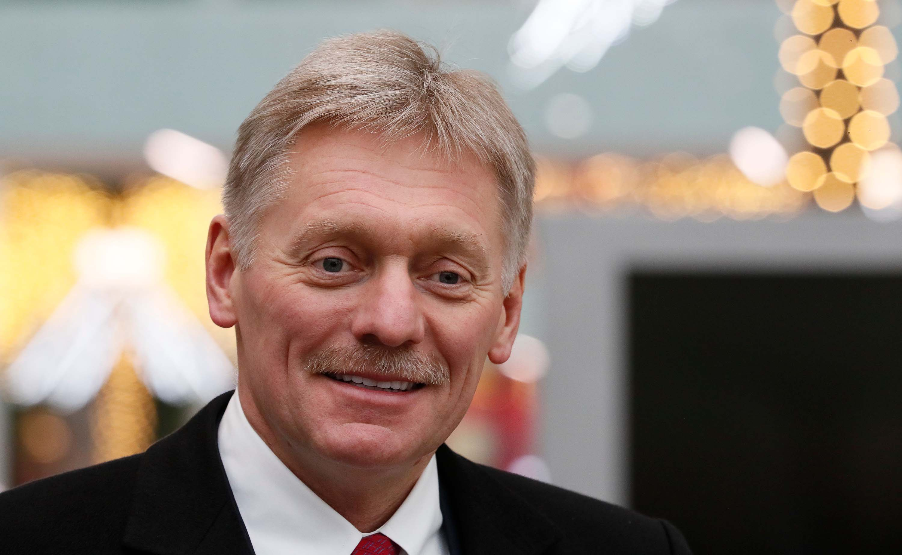 Vladimir Putin's spokesman has been hospitalized with coronavirus