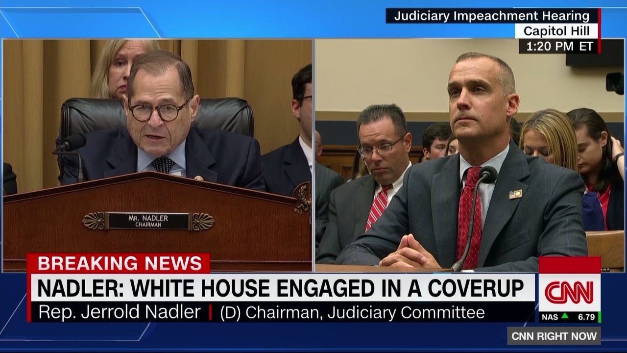 "Nadler: This is ""an absolute cover-up by the White House"""