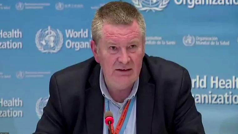 Dr. Mike Ryan, executive director of the World Health Organization health emergencies programme